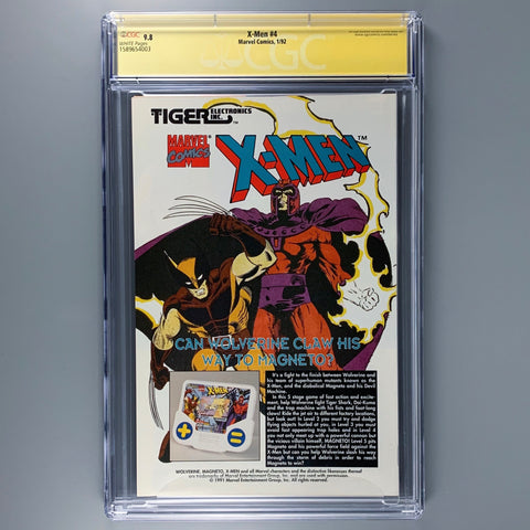 X-Men 4 - CGC 9.8 - Signature Series