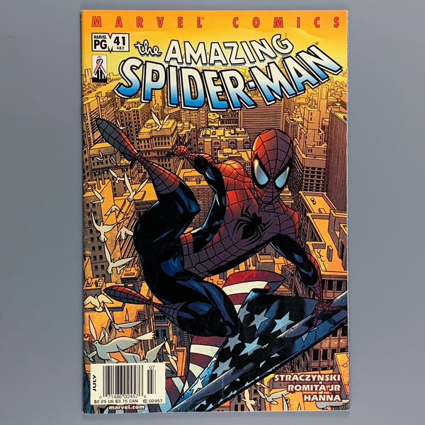 Amazing Spider-Man 41 482 - Newsstand Variant