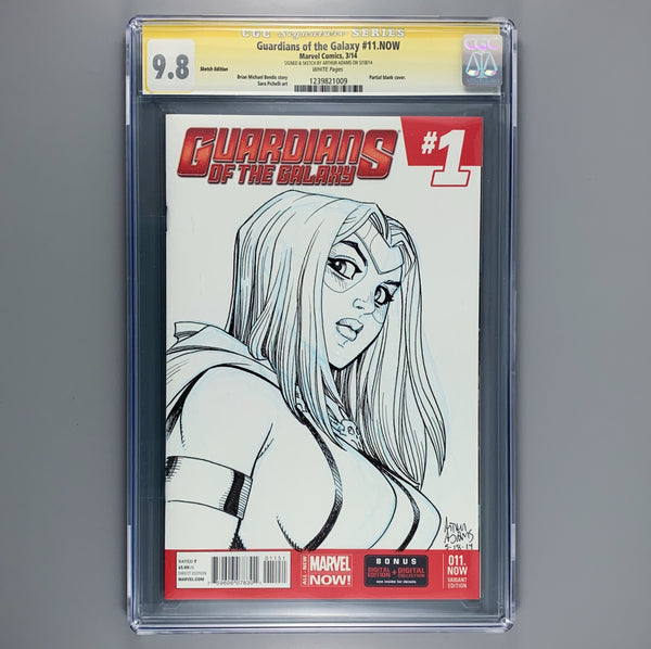 Guardians of the Galaxy 1 - CGC 9.8 - Signature Series