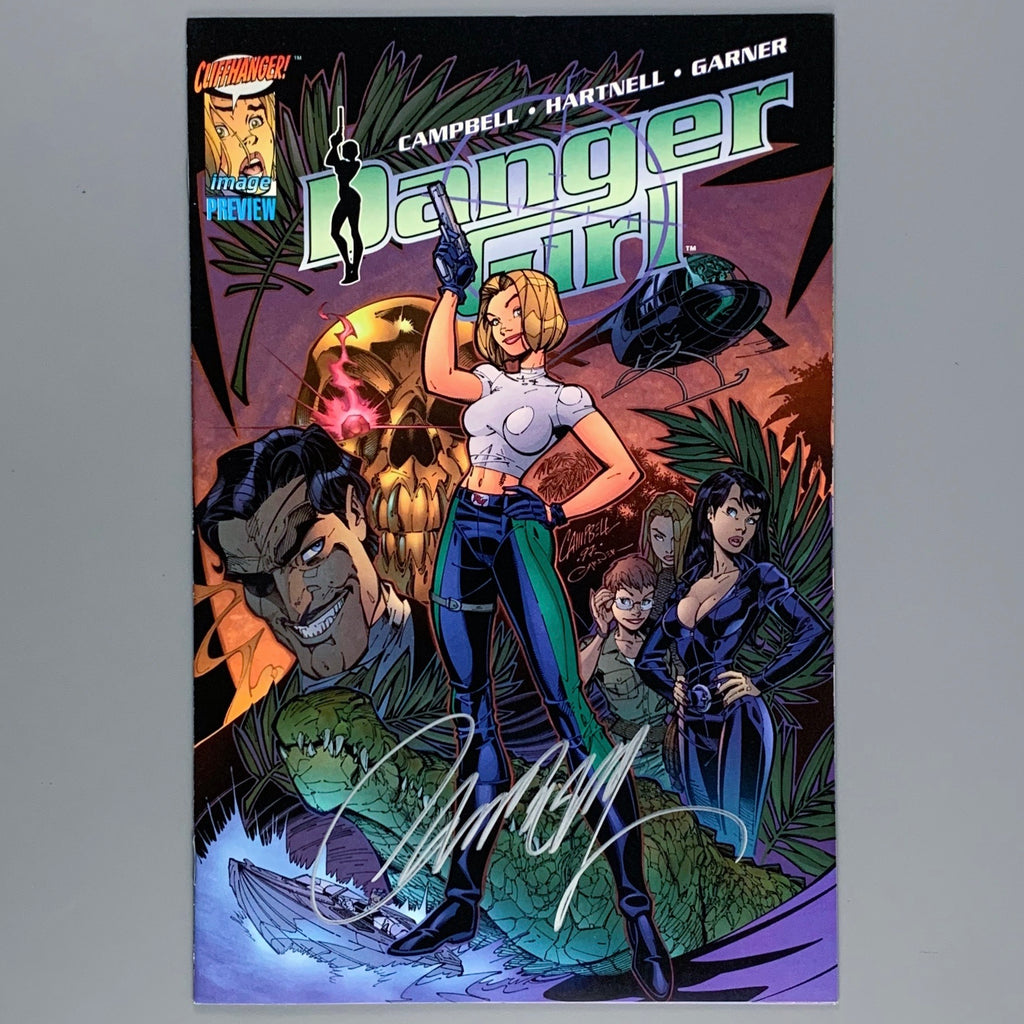 Danger Girl Preview