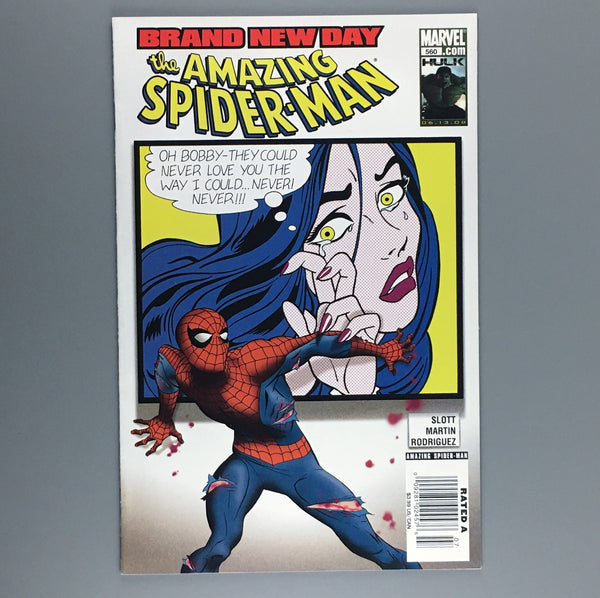 Amazing Spider-Man #560 - Newsstand Variant