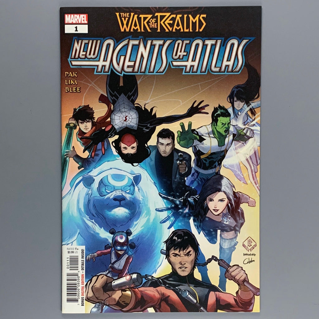 New Agents of Atlas 1 - 1st & 2nd Print