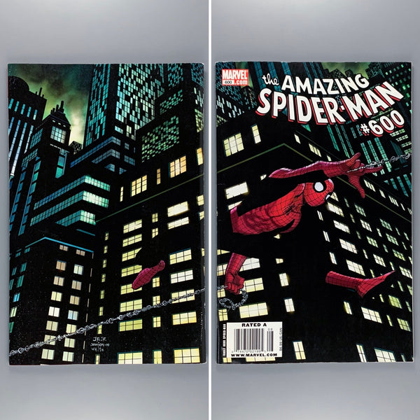 Amazing Spider-Man 600 - Newsstand Variant