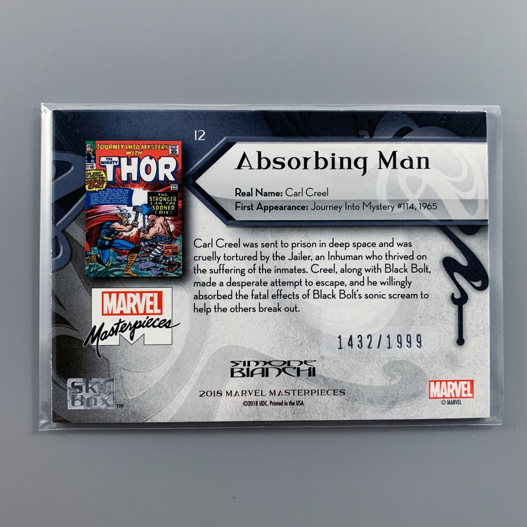 Marvel Masterpiece 2018 - 12 Absorbing Man