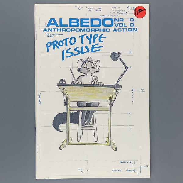 Albedo Anthropomorphic Action Prototype Issue 0
