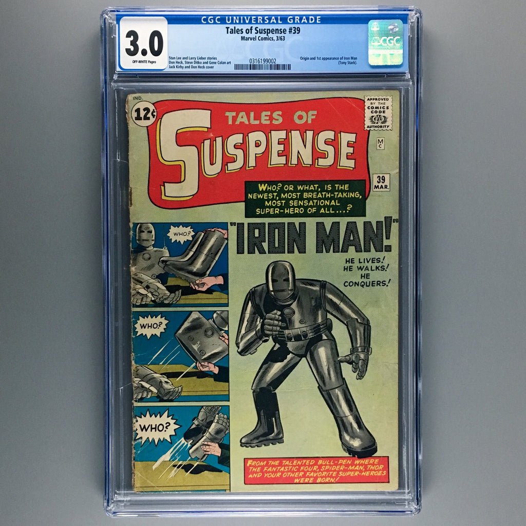 Tales of Suspense 39 - CGC 3.0