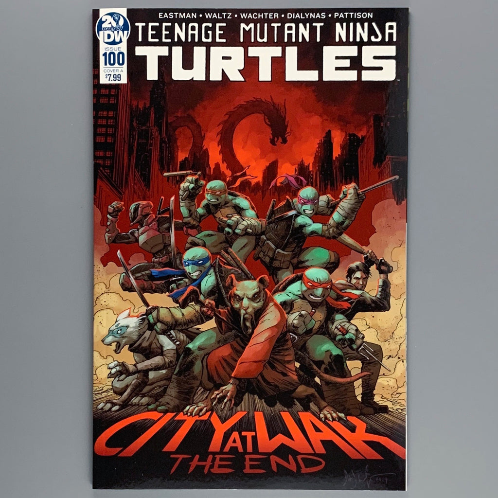 Teenage Mutant Ninja Turtles 100 - Cover A