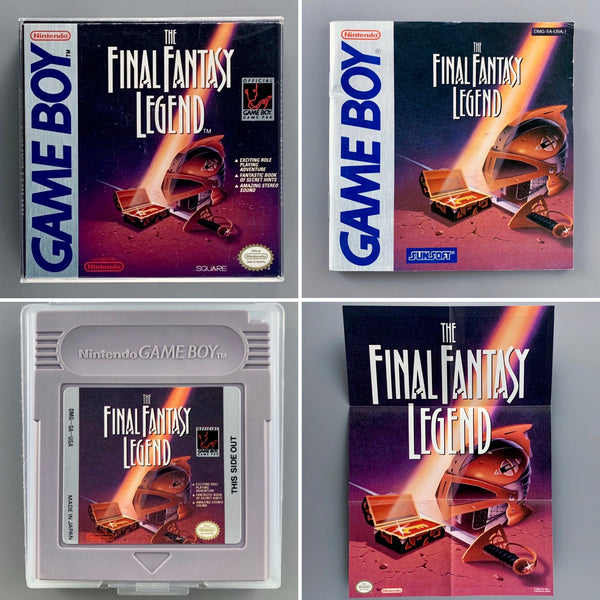 Nintendo Game Boy The Final Fantasy Legend (1990)