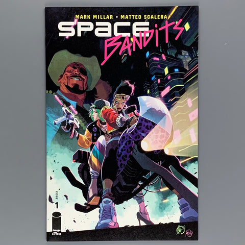 Space Bandits 1 - Cover A and E