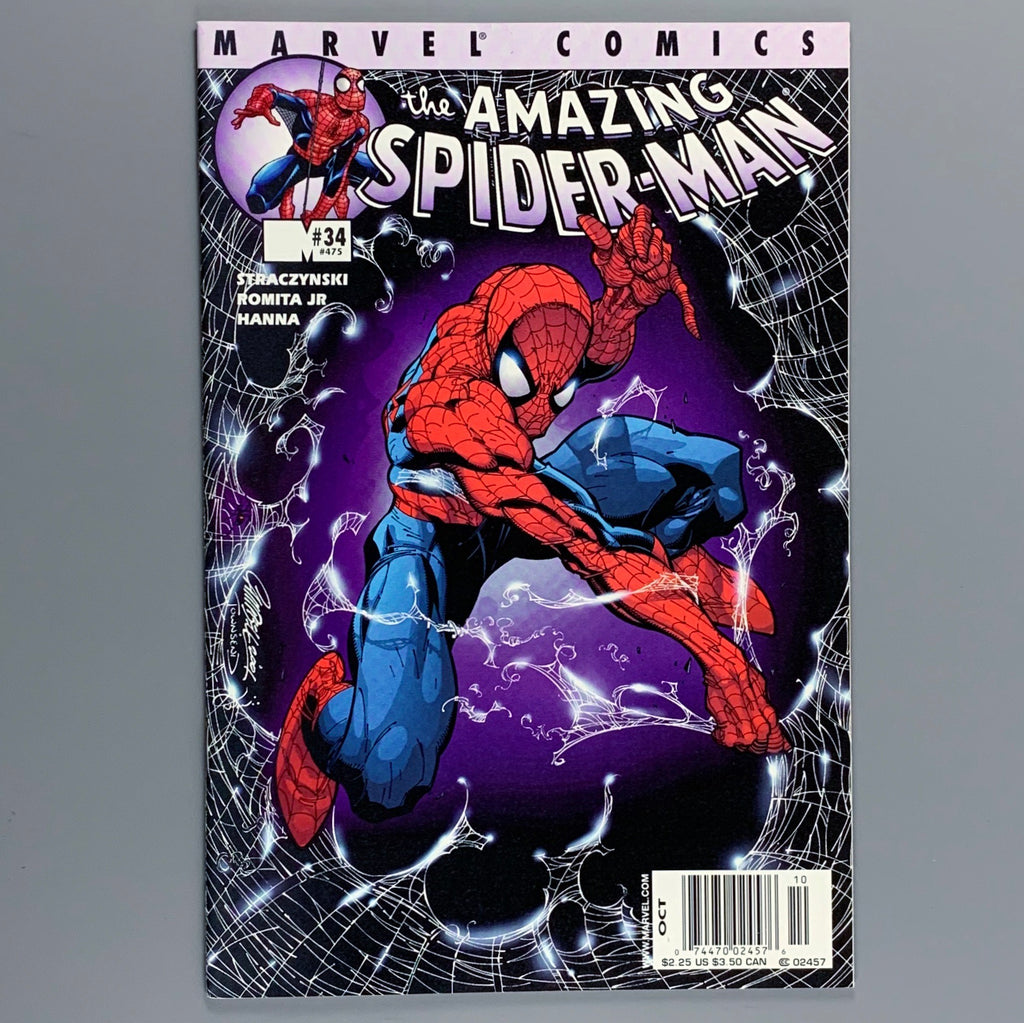 Amazing Spider-Man #34 475 - Campbell Newsstand Variant