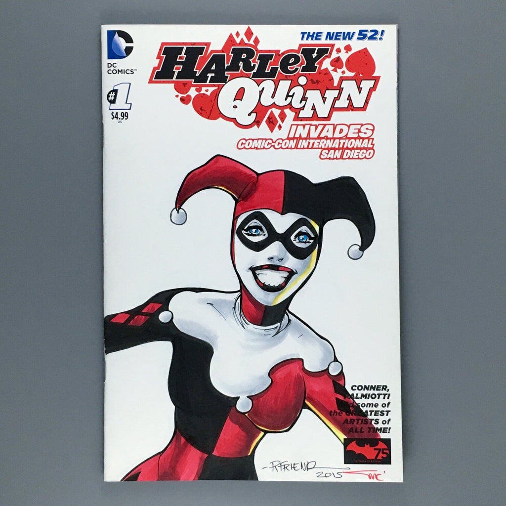 Harley Quinn 1 - Richard Friend Original Art
