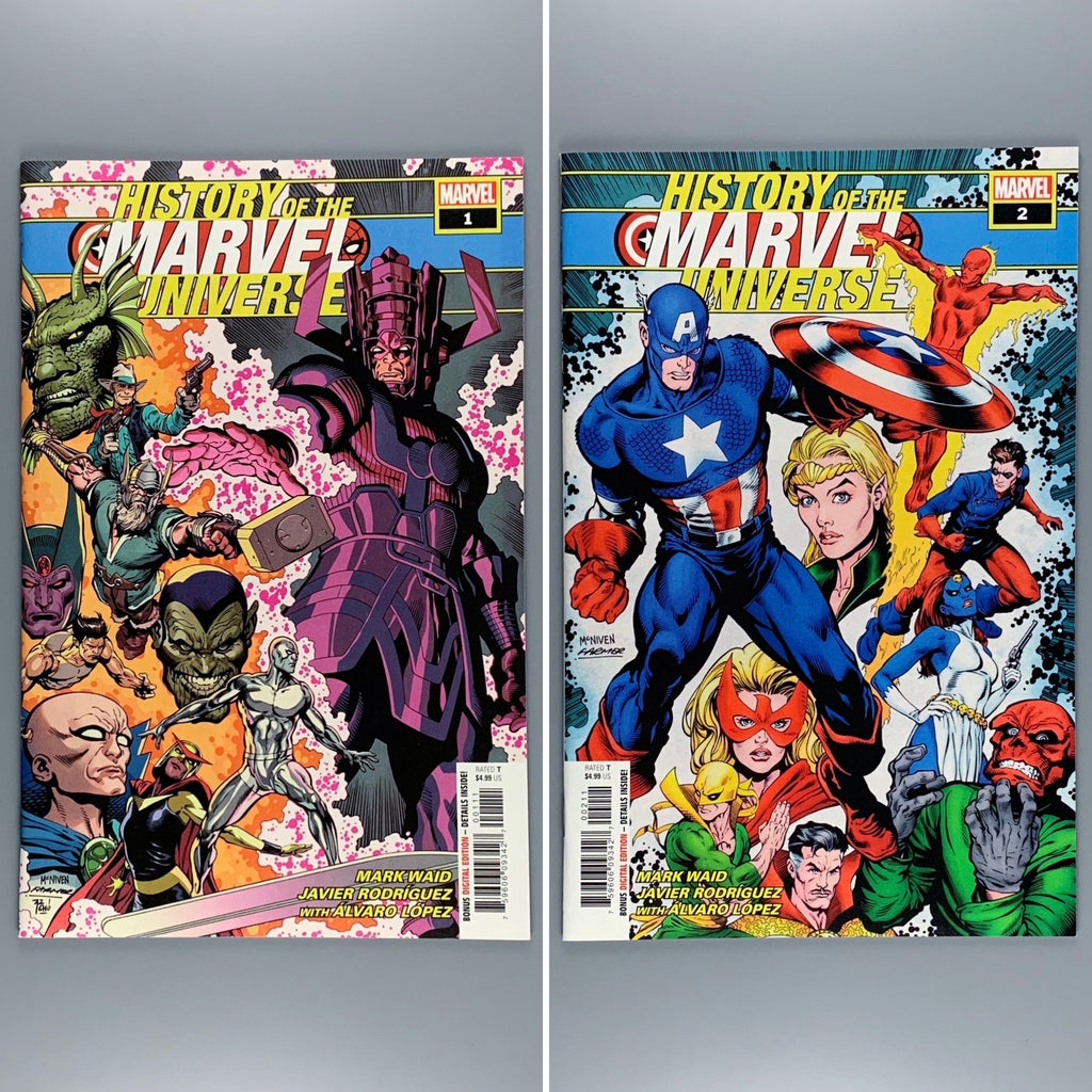 History of the Marvel Universe 1 & 2
