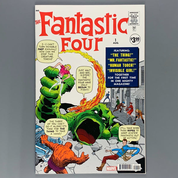 Fantastic Four 1 - Loot Crate Reprint