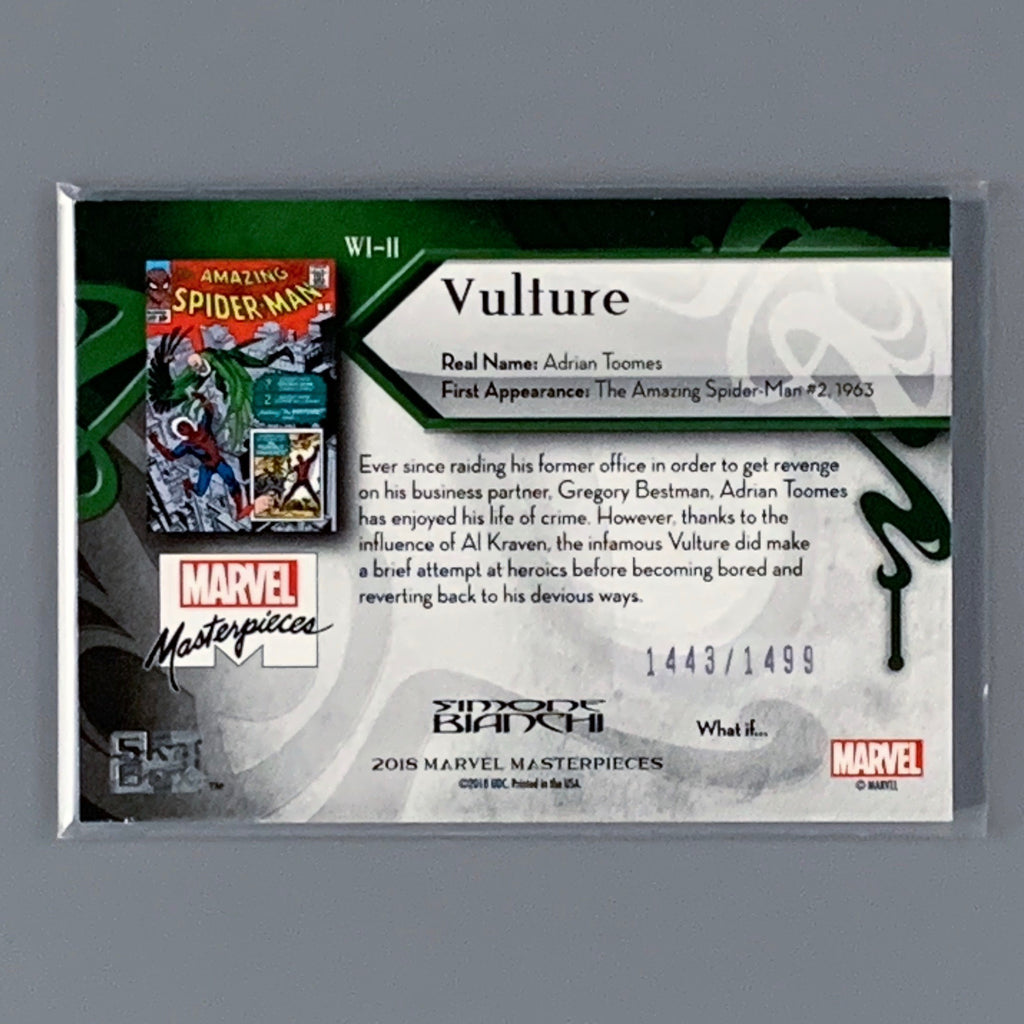 What If? Marvel Masterpiece 2018 - Vulture WI-11