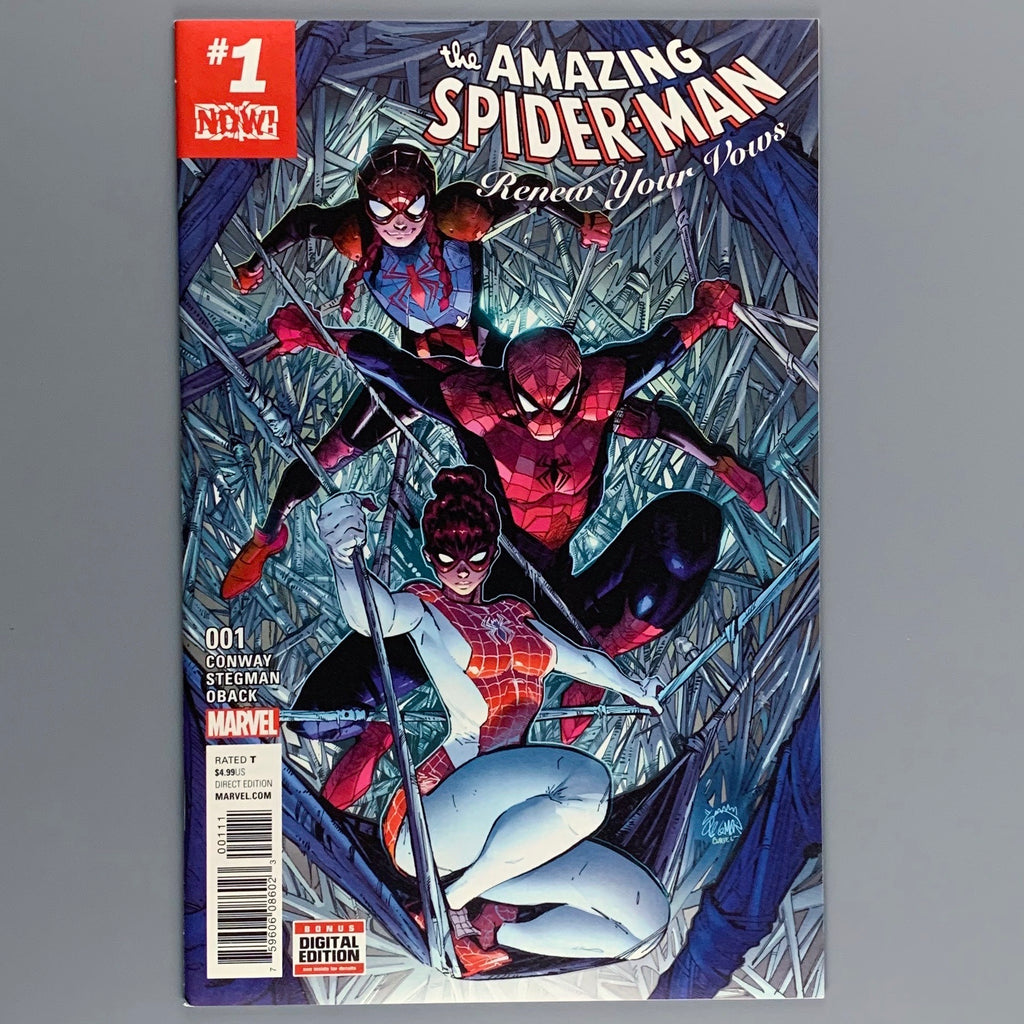 Amazing Spider-Man Renew Your Vows 1