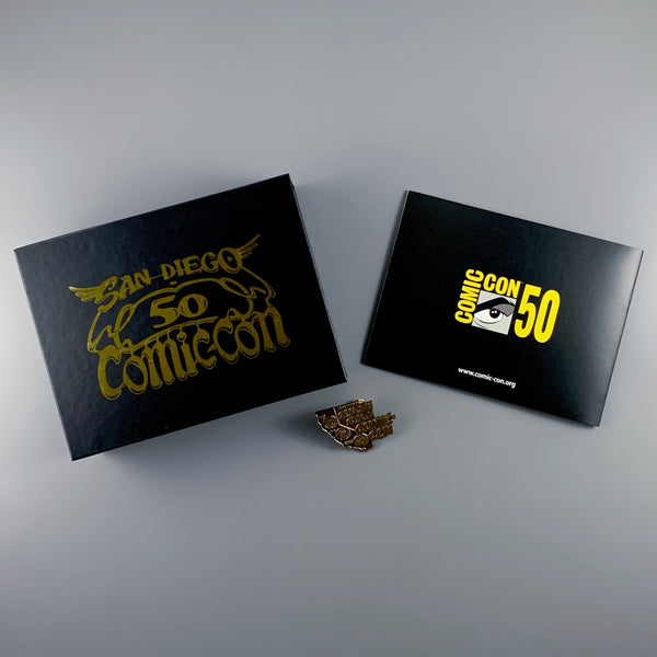 SDCC 2019 Comic Con 50th Anniversary Pin