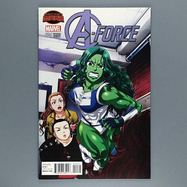 A-Force 4 - Manga Variant