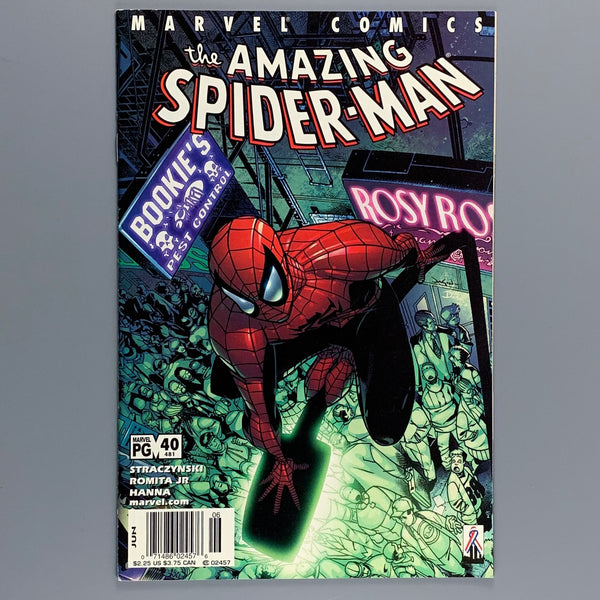 Amazing Spider-Man 40 481 - Newsstand Variant