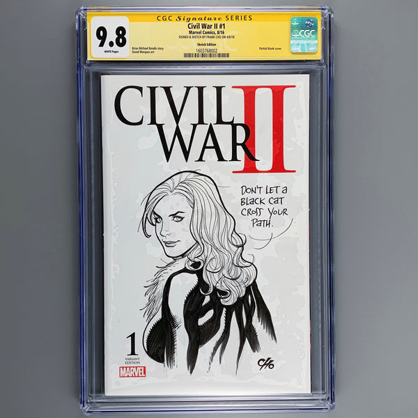 Civil War II 1 - CGC 9.8 - Signature Series