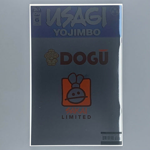 Usagi Yojimbo 6 - Foil Homage Cover