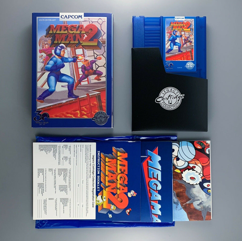 NES Mega Man 2 - 30th Anniversary Edition