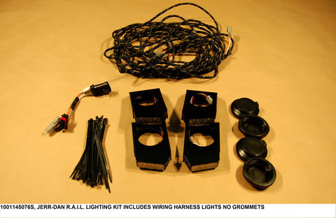 R.A.I.L. Lighting Kit Includes Wiring Harness Lights No Grommets