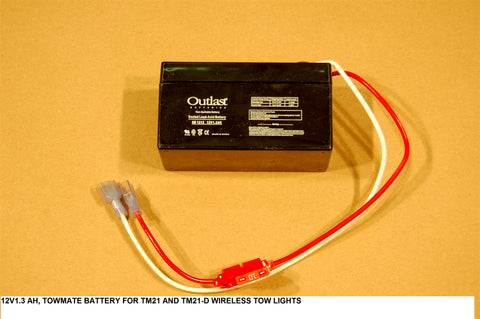 Battery For Tm21 And Tm21-D Wireless Tow Lights