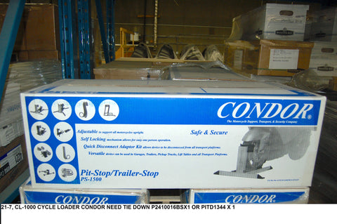 Cl-1000 Cycle Loader Condor