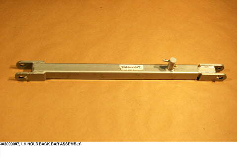 Lh Hold Back Bar Assembly