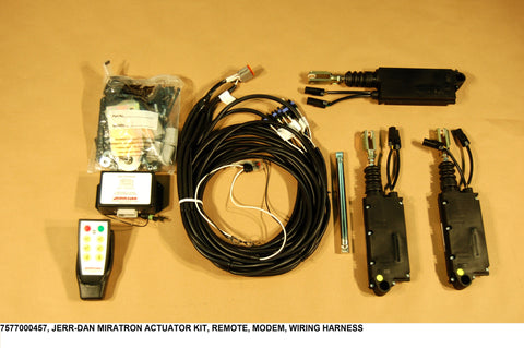 Miratron Actuator Kit,  Remote, Modem, Wiring Harness