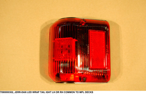 LED Wrap Tail Light Lh Or Rh Common To Mpl Decks