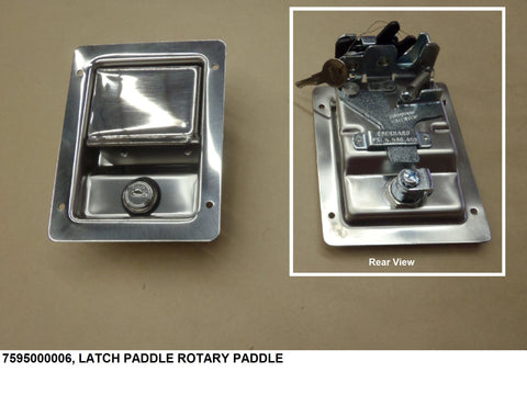 Latch Paddle Rotary Paddle    PN: 7595000006