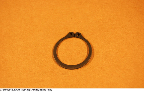 "Shaft Dia Retaining Ring ""1.00"
