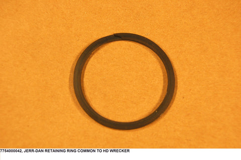 Retaining Ring Common To Hd Wrecker