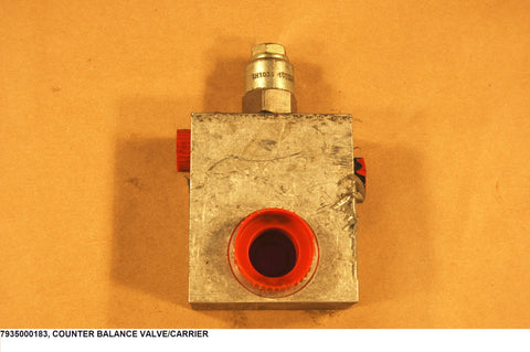 Counter Balance Valve/Carrier