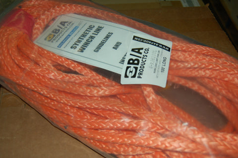 "38""X100' WINCH LINE / ROPE WITH SELF LOCKING CLASP"