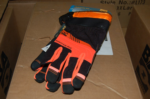 BA PRODUCTS SAFETY WORK GLOVES LIGHTED SIZE MEDIUM SOLD IN PAIRS LH/RH