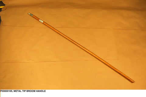 Metal Tip Broom Handle