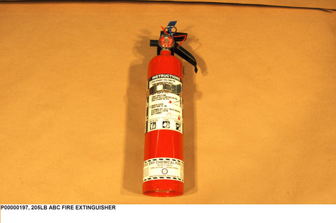 2.5 lb ABC Fire Fire Extinguisher