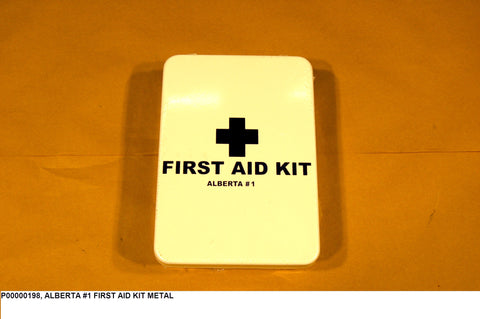 Alberta #1 First Aid Kit Metal