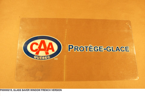 Glass Saver Window French Version