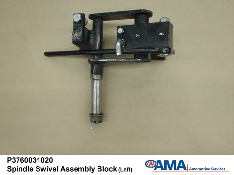 Spindle Swivel Assembly Block Lt