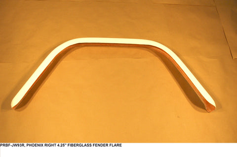 "Right 4.25"" Fiberglass Fender Flare"