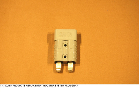 Replacement Booster System Plug Gray