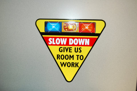 Give Us Room To Work Decal                            PN:DC40185
