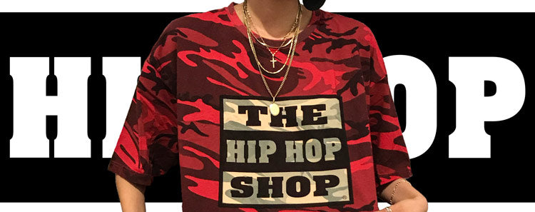 Camouflage Hip Hop Shop t-shirt