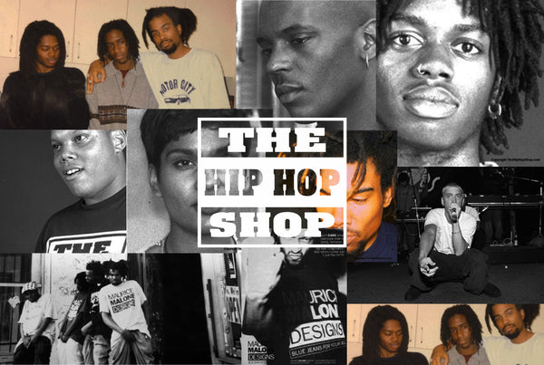 The Hip Hop Shop employees 1990's hip hop