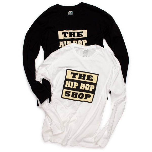 Long Sleeve Hip Hop Shop Classic Logo T-Shirt