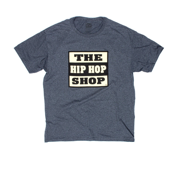 The Hip Hop Shop Logo Heather Black T-Shirt