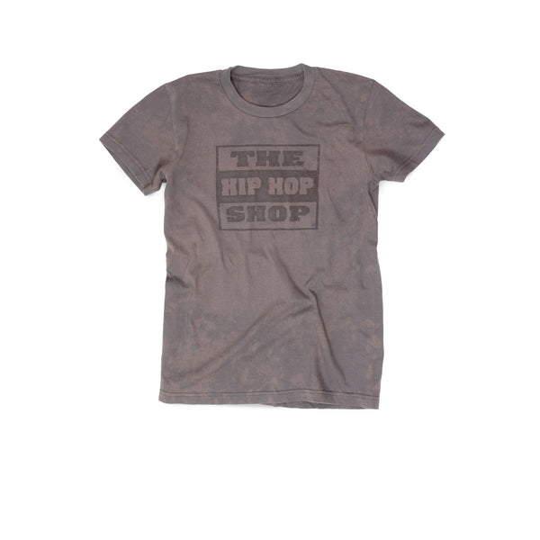 Hip Hop Shop Slim T-Shirt for Women | Gray Washed Logo